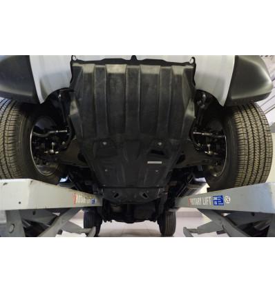 Защита картера двигателя и кпп для Mitsubishi Pajero Sport 14.04k