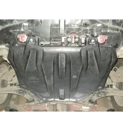 Защита картера двигателя и кпп для Mitsubishi Lancer 14.07k