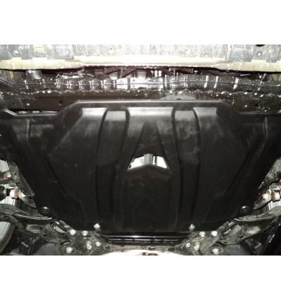 Защита картера двигателя и кпп для Toyota Auris 24.07k