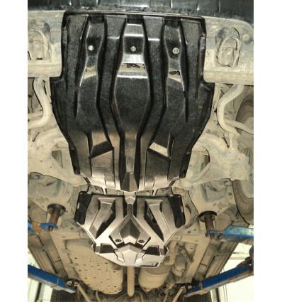 Защита картера двигателя и кпп для Lexus LX 570 24.05k