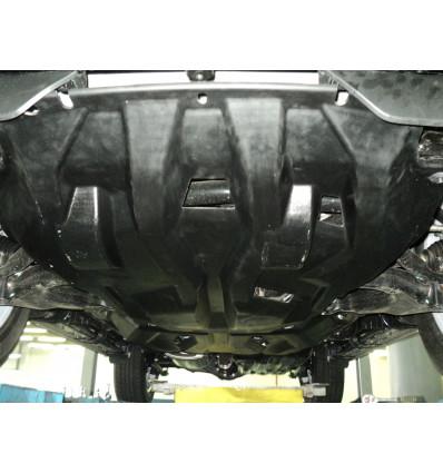 Защита картера двигателя и кпп для Toyota Land Cruiser Prado 150 24.03k