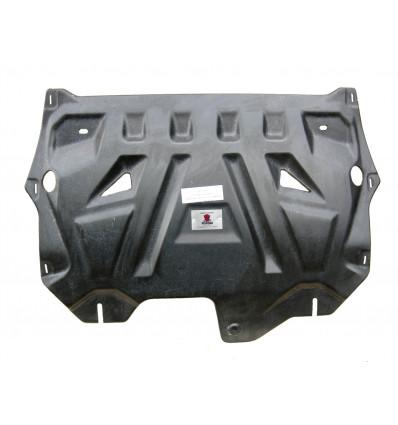 Защита картера двигателя и кпп для Skoda Rapid 21.01k