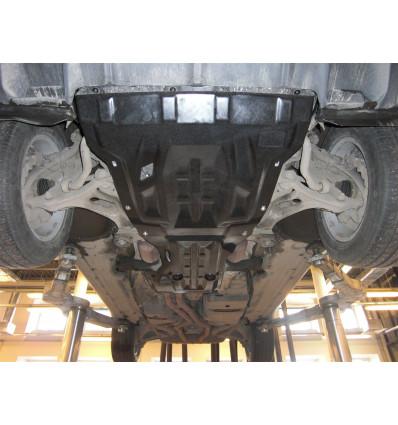 Защита картера двигателя и кпп для Volkswagen Touareg 26.04k