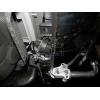 Оцинкованный фаркоп на Mercedes ML M115C