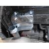 Оцинкованный фаркоп на Kia Sportage 3 H083C