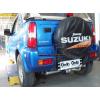 Оцинкованный фаркоп на Suzuki Jimny S050A