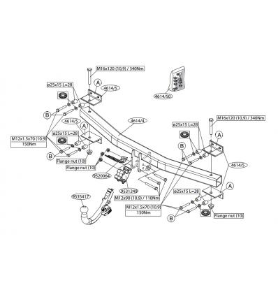 Фаркоп на Audi Q7 461400