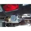 Оцинкованный фаркоп на Nissan Juke N053C