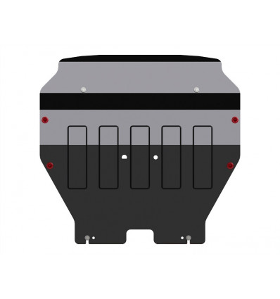 Защита картера и КПП для Volkswagen Transporter T5 26.2450