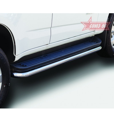 Защита штатного порога на Chevrolet TrailBlazer CTRB.86.1787