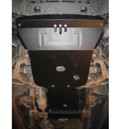 Защита картера двигателя и кпп на Ssang Yong Kyron 14.307.C3