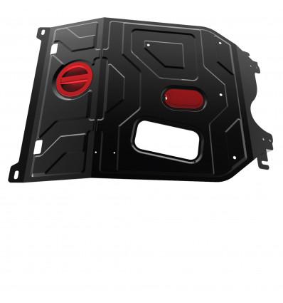Защита картера и КПП Daewoo Nexia 111.01310.1