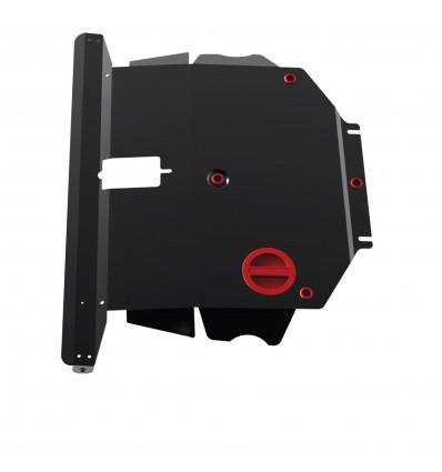Защита картера и КПП BYD F3 111.05722.3