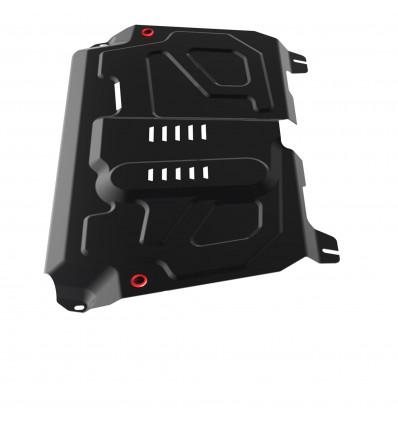 Защита картера и КПП Toyota Highlander 111.05781.1