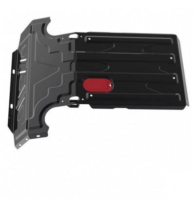 Защита радиатора и картера Chevrolet Niva 1.01017.1
