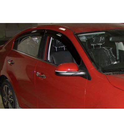 Дефлекторы боковых окон на Kia Rio SKIRIO1732