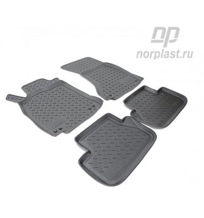 Коврики в салон Audi A4 NPL-PO-05-02