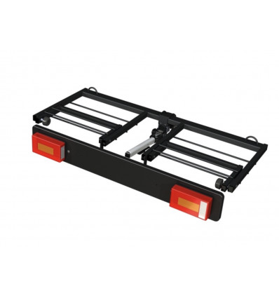 Быстросъемный багажник для перевозки грузов с креплением на фаркоп 1150