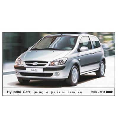 Защита картера на Hyundai Getz 10.1636