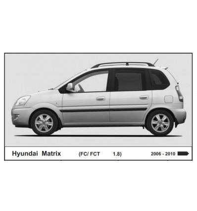 Защита картера и КПП для Hyundai Matrix 10.0881