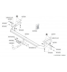 Фаркоп на Citroen C5 447200