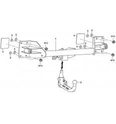 Фаркоп на BMW X6 E71 303290600001