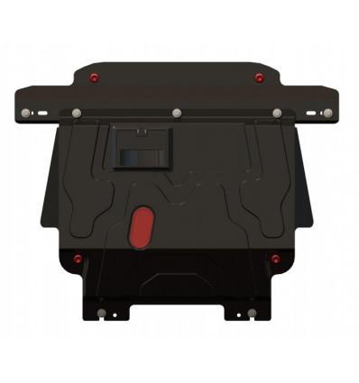 Защита картера и КПП на Ford Fiesta 5 08.1301