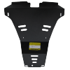 Стальная защита заднего бампера для Nissan X-Trail 01440