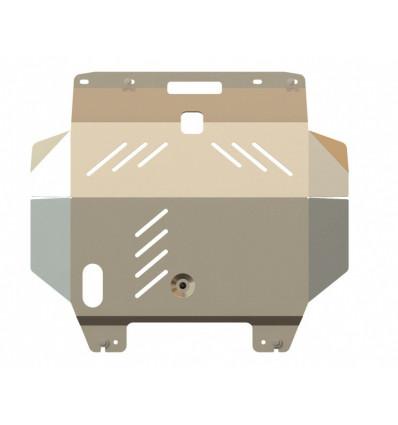 Защита картера и КПП для Nissan  X-Trail 15.0956