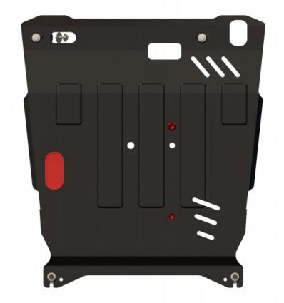 Защита картера и КПП для Peugeot 4007 17.1282