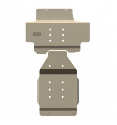 Защита картера и КПП для Infiniti QX 80 15.1750