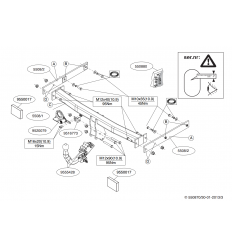 Фаркоп на Audi A7 550800