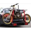 Быстросъемный багажник для перевозки мотоцикла с установкой на фаркоп 1151