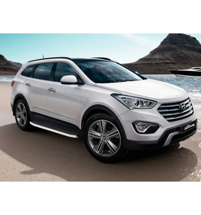 Пороги на Hyundai Santa Fe 10.2556.90D