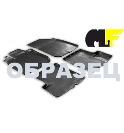 Коврики в салон Nissan Xtrail 101-15
