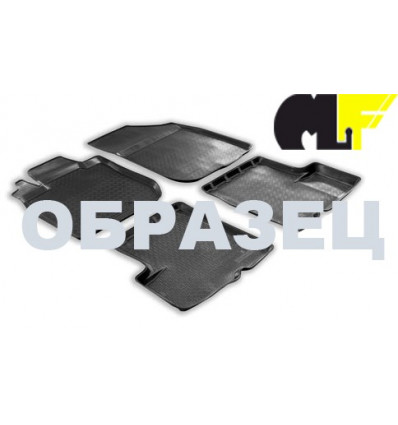 Коврики в салон Nissan Qashqai 101-16