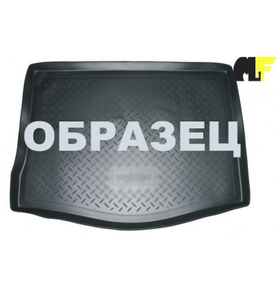 Коврик в багажник Skoda Rapid 104-30