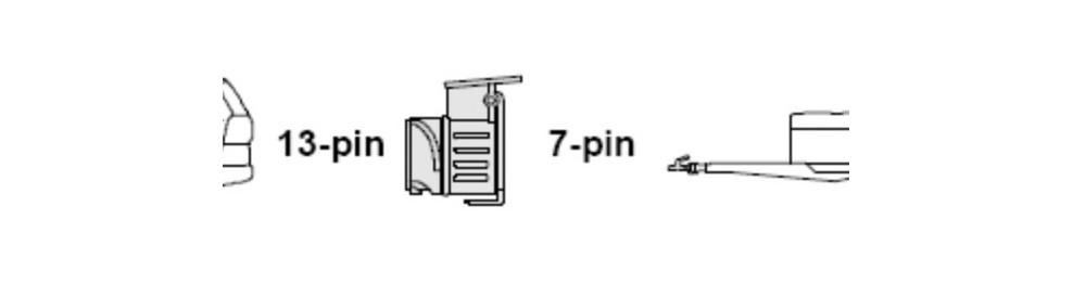 Переходник с 13pin на 7pin