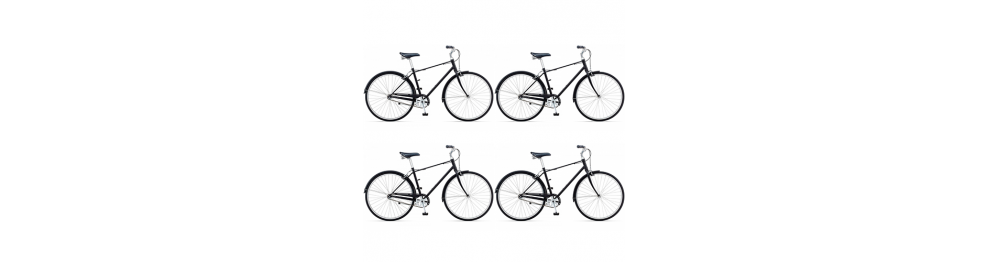 Для 4-х велосипедов