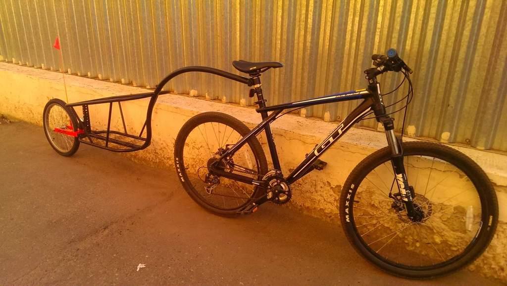 прицепное устройство детского велосипеда к взрослому