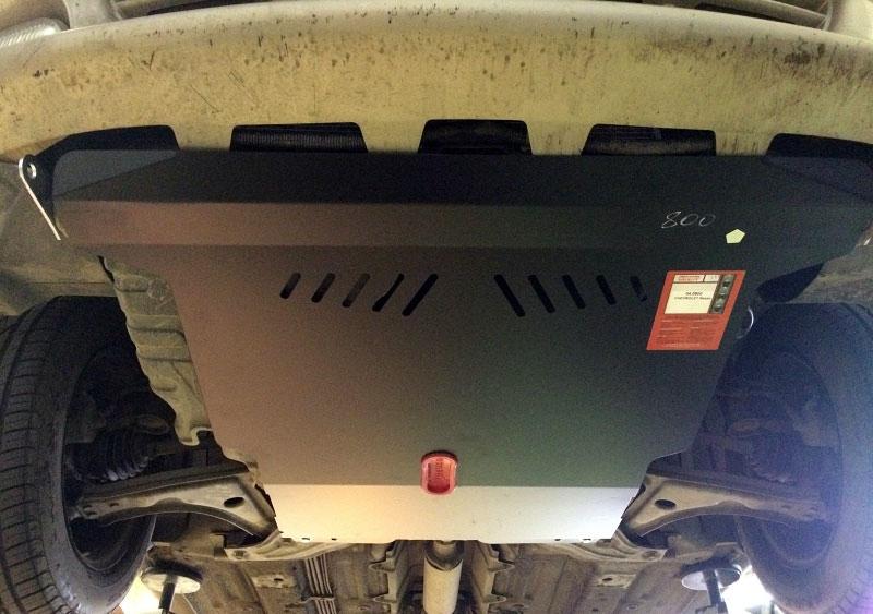 Защита картера Chevrolet Rezzo (Шевроле Реззо)