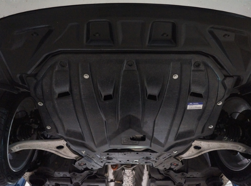 Защита картера Хендай Ай 40 (Hyundai i40)