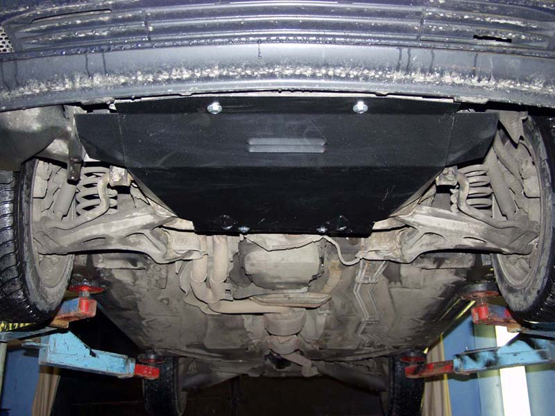 Защита картера на Mercedes CLK