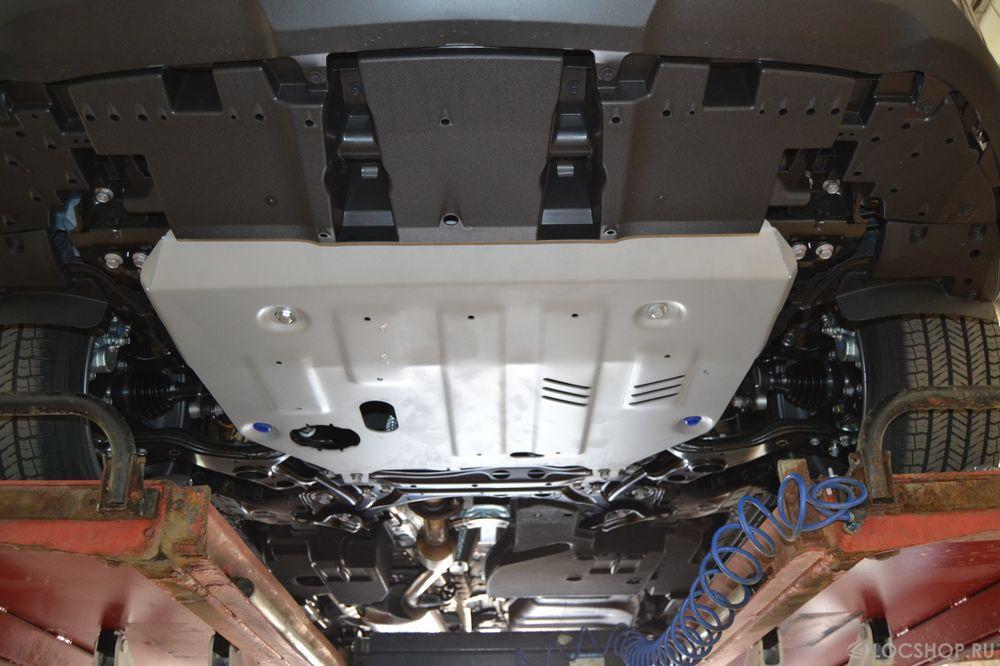 Защита картера на Lexus NX