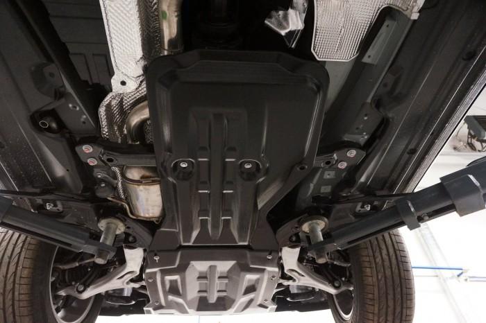 Защита двигателя и КПП для Порше Кайен