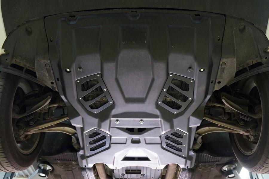 Защита картера Porsche Macan