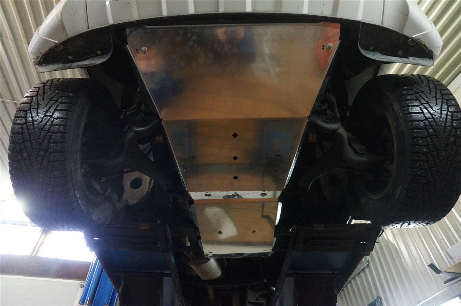 Защита картера двигателя Volkswagen Amarok