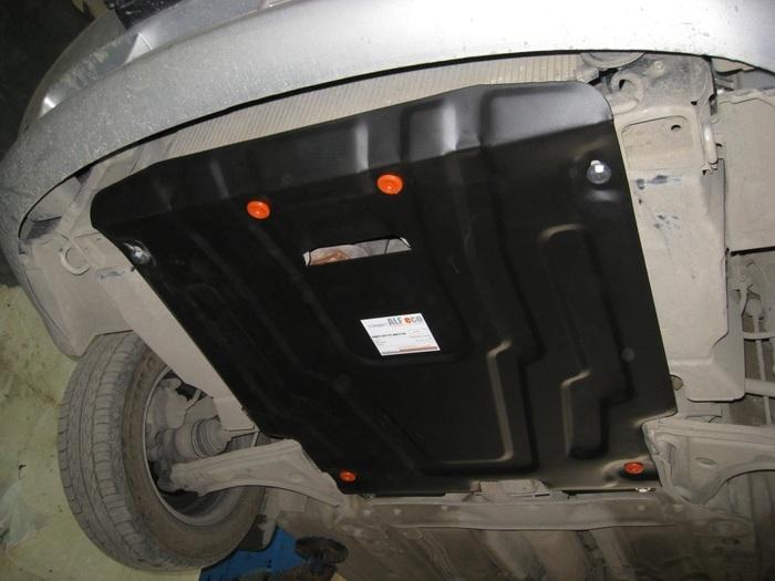 защита картера Chevrolet