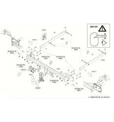Фаркоп на Mercedes C 582000