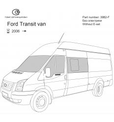 Фаркоп на Ford Transit 3982F